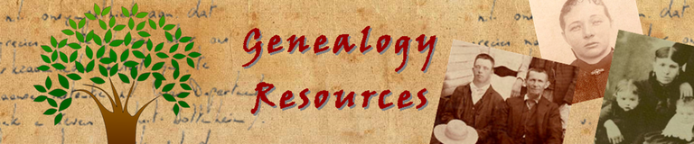 Genealogy Resources Page