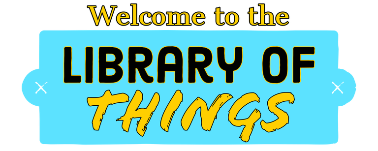 Welcome to the Library of Things