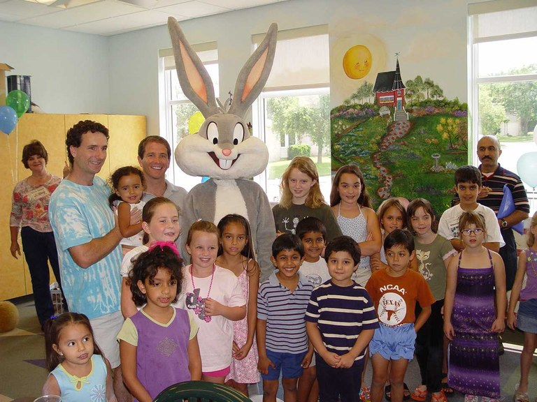 A visit from Bugs Bunny